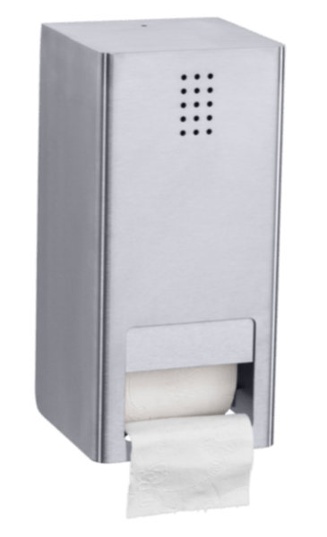 Toiletrulle-holder dobbelt, rustfri stål, Proox One Pure - PU-300