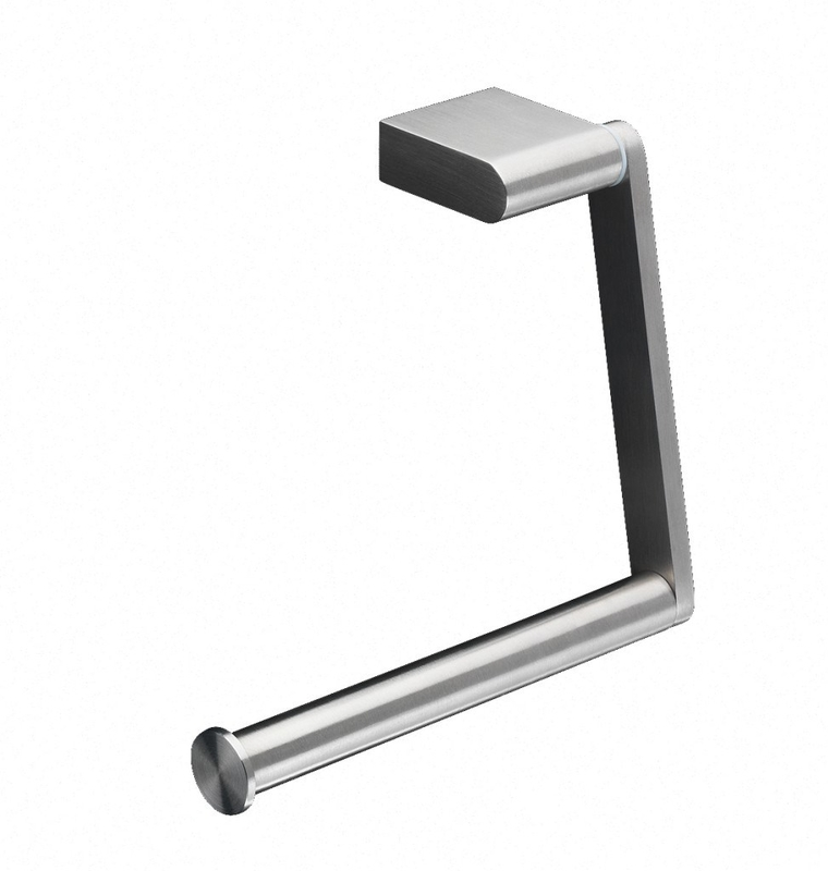 Toiletrulle-holder, enkelt rulle, rustfri stål, Proox ONE Pure